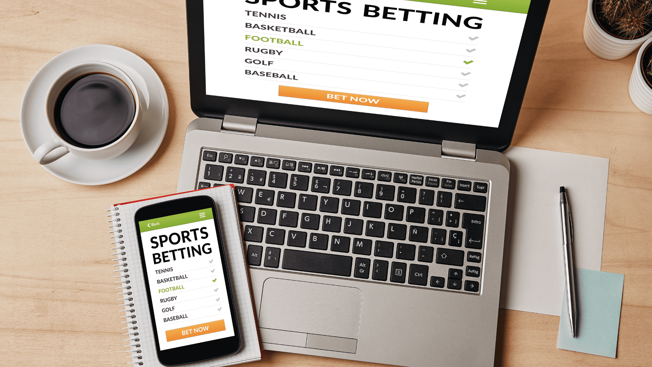 Create a Sports Betting Website