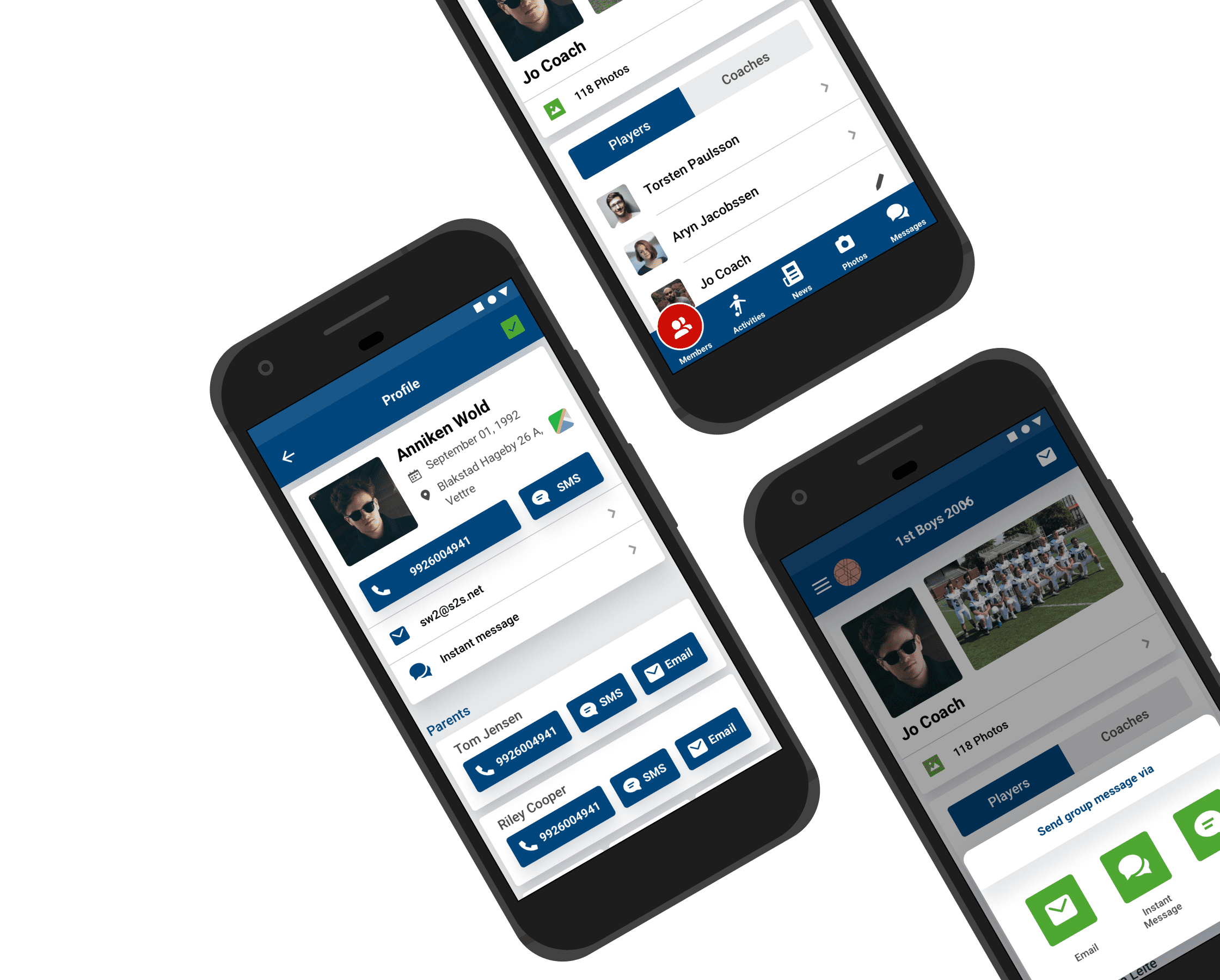 Secure Social Networking platform for sports